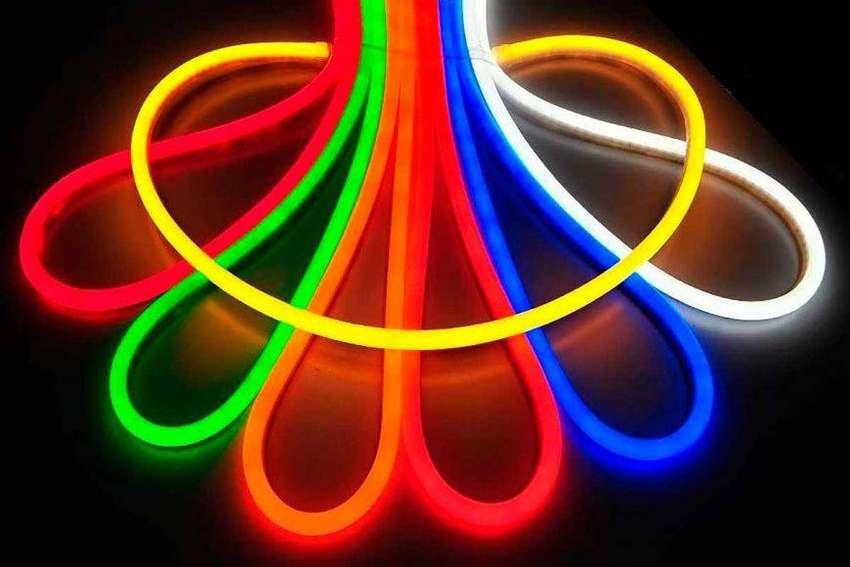 Luz neon flex especial para personalizar espacios