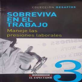 Libro Sobreviva en el Trabajo Colección Desafíos El Espectador envió gratuito