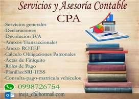 Asesoria Financiera y Contable CPA