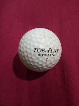 Pelota de golf usada