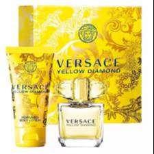 Estuche Versace Yellow Diamonds 100ml Mujer Eros