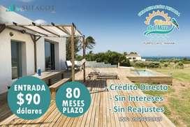 Proyecto de Lotes Urbanizados / A 3 minutos de la playa de Puerto Cayo / con 90 usd de entrada /SD3