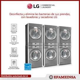Equipos apilables semi industriales comerciales Marca LG