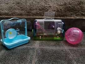 Hamster Combo casa transporte y jueguete