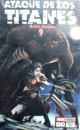 Mangas Attack Of Titan Originales Ed. Panini