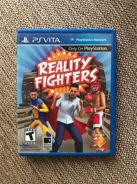 Reality Fighter Ps Vita Sellado Cambio
