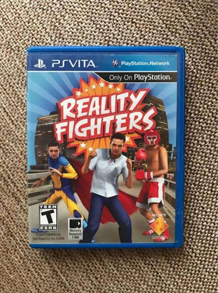 Reality Fighter Ps Vita Sellado 0