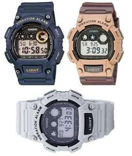 Reloj CASIO W735H Nuevo Original