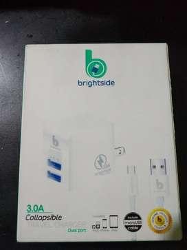 Cargador Brightside Original 3amp 2 USB