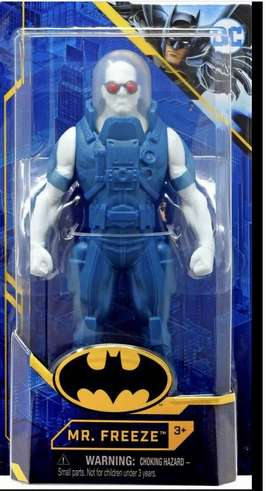Dc Basic Mr. Freeze Action Figures Spin Master