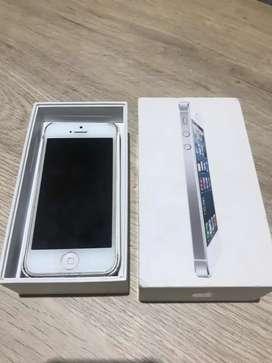 iPhone 5 Con Caja Original