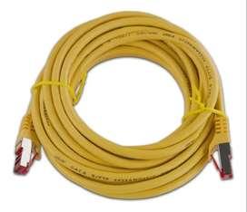 Cable Utp Red Ethernet Lan Rj45 Categoria-6 15-metros