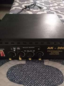 Amplificación pioner de 6.trancitores potente con ecualizador de sonido