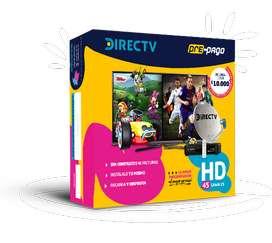 Directv HD Prepago GRATIS Domicilio