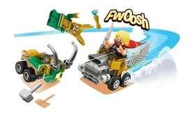 Thor Loki Figura Lego Mighty Micro Héroe Bloques Autos Locos