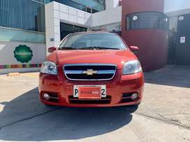 Chevrolet Aveo Emotion GLS 2016 flamante de Oportunidad