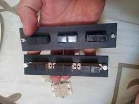 acopladores fibra duplex monomodo