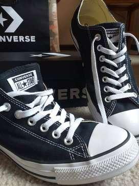 Zapatos Converse Negro Clasicos 9,5 US