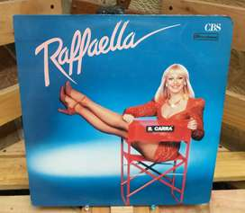 Long Play Lp Dísco Acetato Pasta Vinyl Raffaella Raffaella