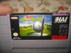 Juego Hole In One Golf Nintendo Snes Original Excelente