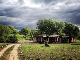 Complejo de cabañas con casa en San Marcos Sierras