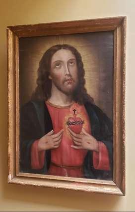 Obra: Corazón de Jesús del periodo Garciano finales del siglo XIX