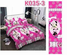 Edredones de cama doble para niños y niñas