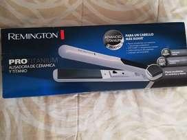 Plancha de cabello Remington Titanium