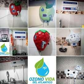 Filtros para el agua a base de ozono