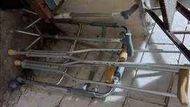 Silla de ruedas andador muletas