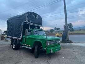 Camión Doche brasilera enfierrada se vende o se permuta