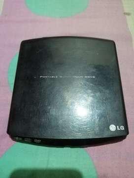Unidad de DVD externa LG