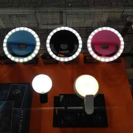 Aro de Luz para Teléfono. Rosada, Negra y Azul