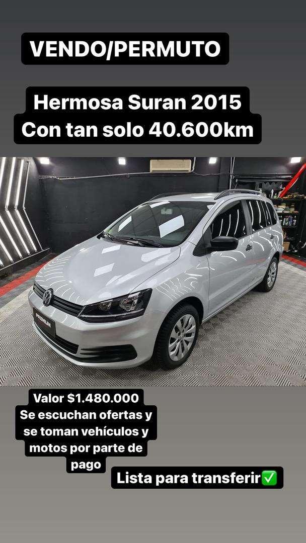 VENDO/PERMUTO HERMOSA SURAN 2015 CON TAN SOLO 40.600KM