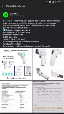 Termómetros digitales infrarrojos/precios de importación