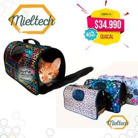 bolso guacal para gatos y perros pequeños cargador para llevar