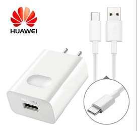 Cargador Carga Rapida Huawei P20 Lite Usb Tipo C - Orig