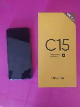 Realme C15 128g RAM 4 nuevo