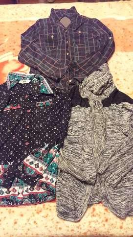 Saco más dos blusas