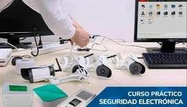 CURSO SEGURIDAD ELECTRONICA QUITO. CAMARAS, ALARMAS, CERCO, REDES, FIBRA OPTICA, ALARMA COMUNITARIA