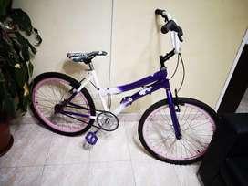 Vendo bicicleta para adolescente niña