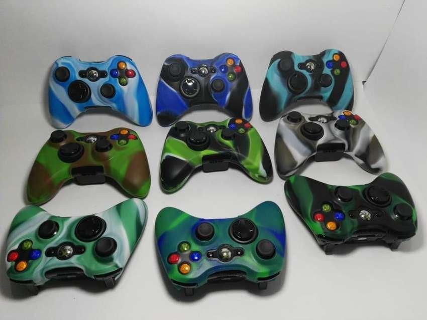 Forros, siliconas para control Xbox 360 0