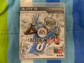 Madden NFL 13 ps3 Fisico