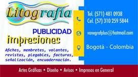 LITOGRAFÍA, PUBLICIDAD