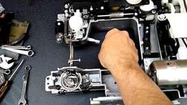 Reparacion de maquinas de coser + limpieza + lubricacion $ 750