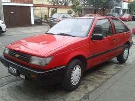 Vendo auto Chevrolet Geo spectrum del ao 1989