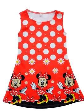 Vestido Minnie Rojo