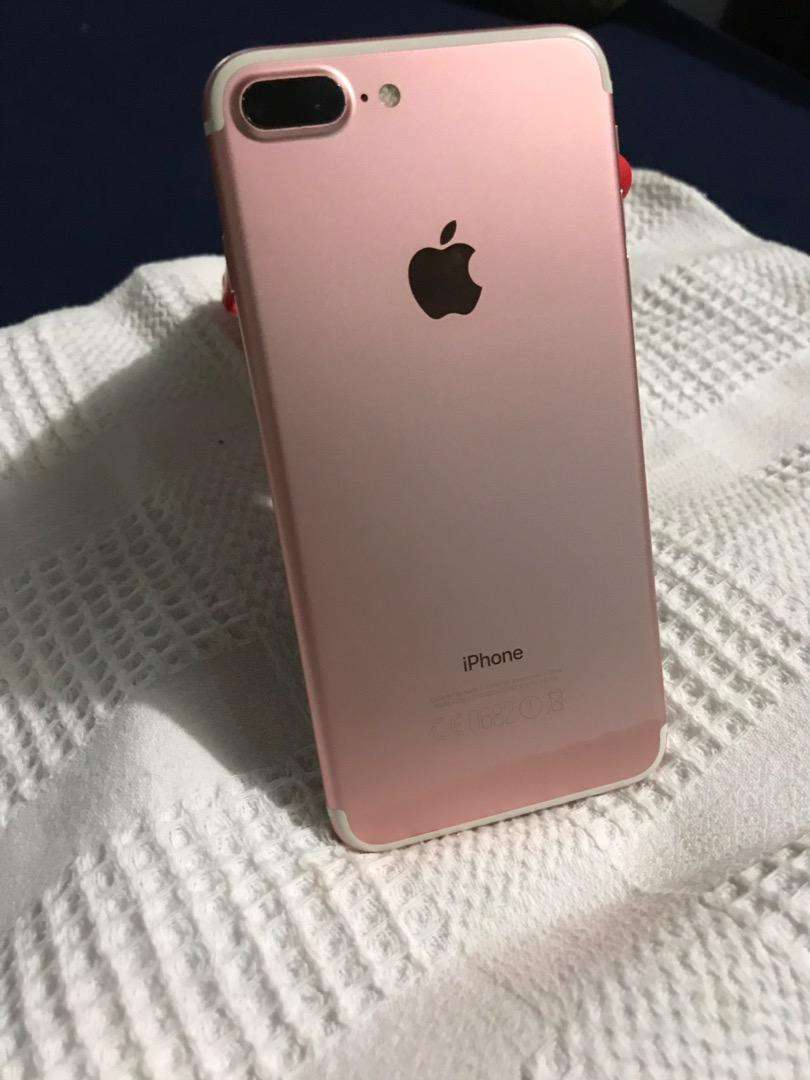 Iphone 7 plus rosa gold y ipad mini 2 0