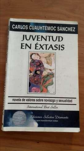 Libro Juventud en extasis de Carlos Cuauhtemoc Sanchez