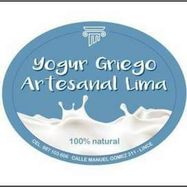 Yogur Griego Artesanal Lima